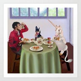 Boston Tea Party Art Print