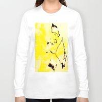 nudes Long Sleeve T-shirts featuring Nudes Art 2011 by Falko Follert Art-FF77