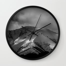 Provo Mountains Wall Clock