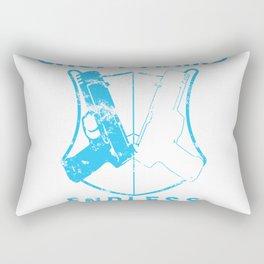 Croft arms  light bl Rectangular Pillow