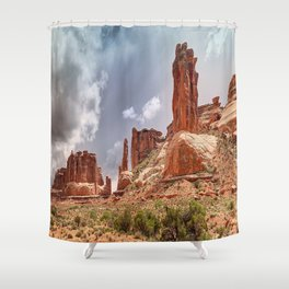 Moab - Red Rocks Country Shower Curtain