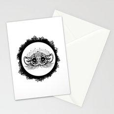 Half Cute Wild Cat Stationery Cards