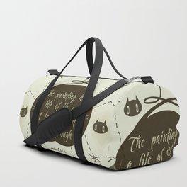 Jack Son Pollock - Life Duffle Bag