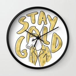 Outsider Art Wall Clock