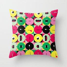 BLA BLA Throw Pillow