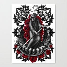 Santa Muerte 5 Canvas Print