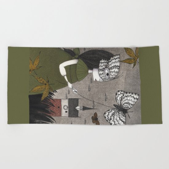 Oda (An All Hallows' Eve Tale) Beach Towel