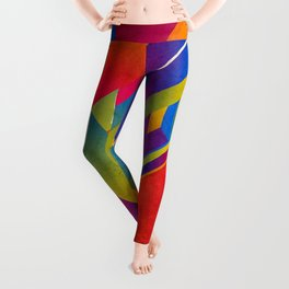 Geometric Play Leggings
