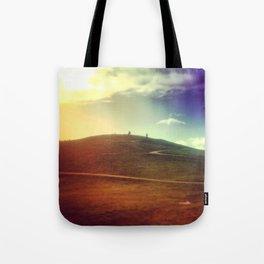 Through A Rainbow. Tote Bag