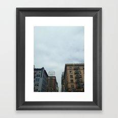 koreatown los angeles Framed Art Print