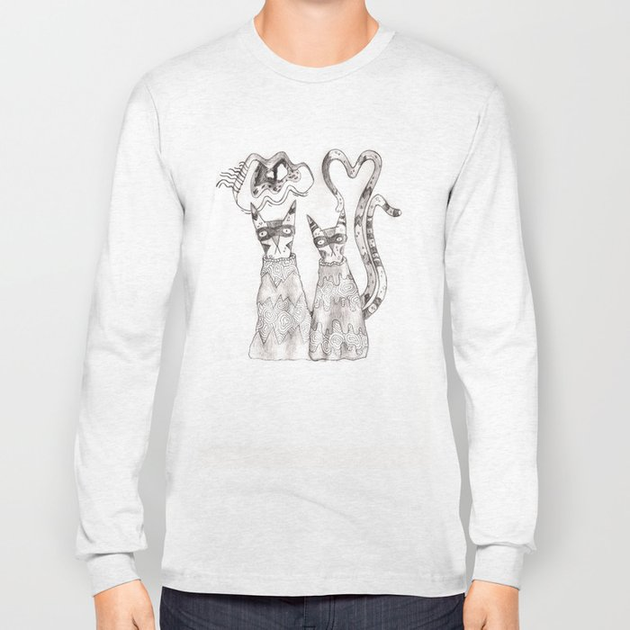 I love cats Long Sleeve T-shirt