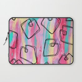 Heart Pattern Love Illustration Coloful Laptop Sleeve