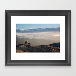 Mountain Dates Framed Art Print