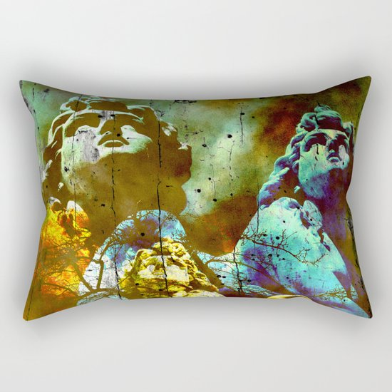 THE ANGELS CALL YOUR NAME Rectangular Pillow