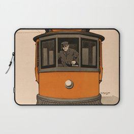 History of the Trolley car 1905 Laptop Sleeve