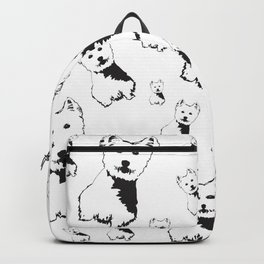WEST HIGHLAND TERRIER GIFTS Backpack