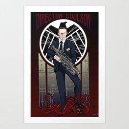 Director Coulson Art Print
