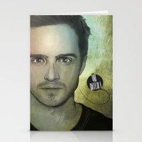jesse pinkman Stationery Cards featuring Jesse Pinkman, Yo bitch! by Duke.Doks