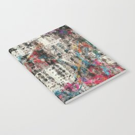 Analog Synthesizer, Abstract painting / illustration Notebook