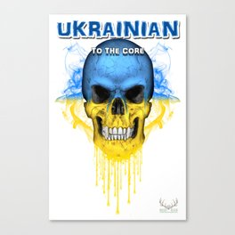 To The Core Collection: Ukraine Canvas Print