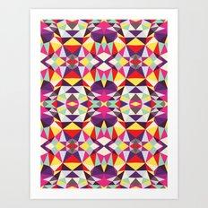Disco Tribal Art Print