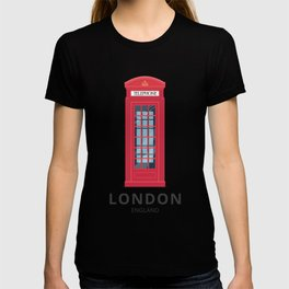 London England K6 Telephone T-shirt