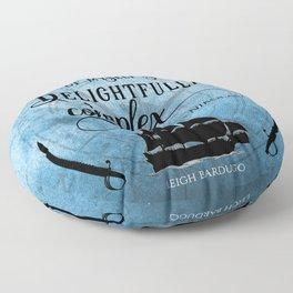 Delightfully complex quote - Nikolai Lantsov - Leigh Bardugo Floor Pillow