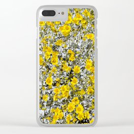 Super Bloom 7294 Paradise Joshua Tree Clear iPhone Case