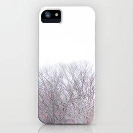 Winter Tree Tops iPhone Case