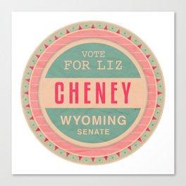 Liz Cheney For Senate Canvas Print
