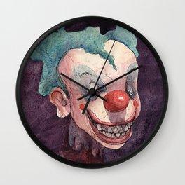 Creepy Clowns Series n.1 Wall Clock
