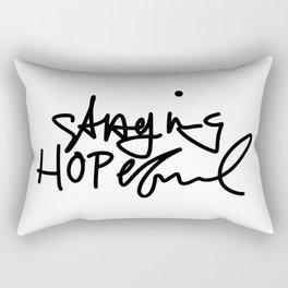 Staying Hopeful Rectangular Pillow