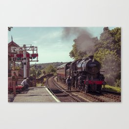 Severn Valley Token Canvas Print