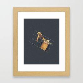 NOT The Death of Marat Framed Art Print