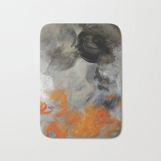 empty hurricane fires Bath Mat