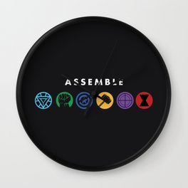 Assemble Wall Clock