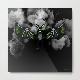 Big Bat Metal Print