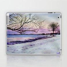 Winter evening in Racine Laptop & iPad Skin