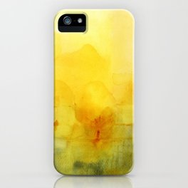 Memory of a landscape iPhone Case
