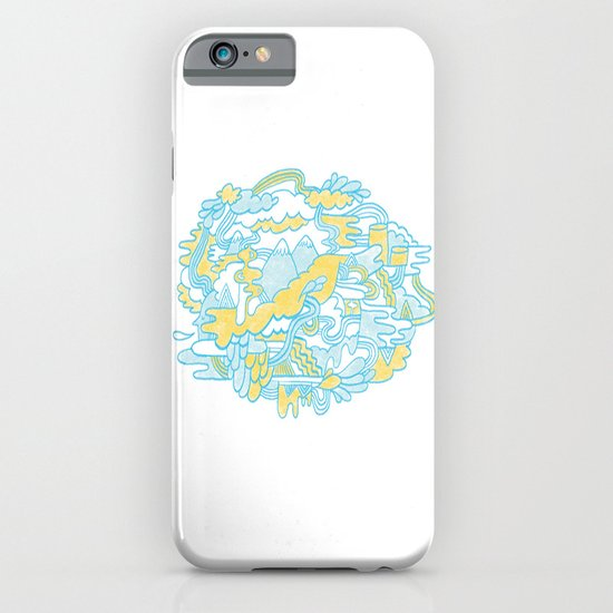 Spaghetti Mountain iPhone & iPod Case