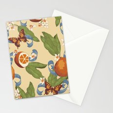 Botanical Oranges Stationery Cards