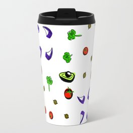 Avocado Salad Travel Mug