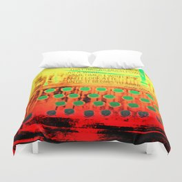 What Emily Dickinson Said Duvet Cover