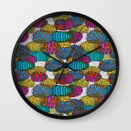 Island Colors  Wall Clock