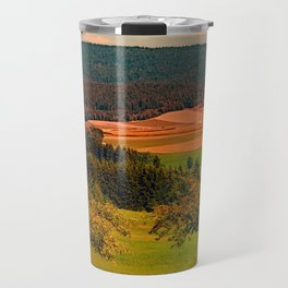 Two rival trees Travel Mug