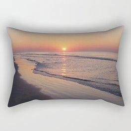 Sunrise Over The Atlantic Ocean Rectangular Pillow