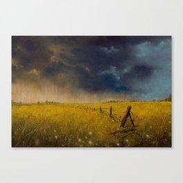 Rolling Thunder Pastel Art Print Canvas Print