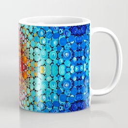 Inner Vision - Colorful Spiritual Abstract Art By Sharon Cummings Coffee Mug
