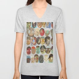 More People In The Know Unisex V-Neck