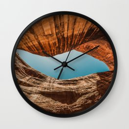 Canyon Walls Wall Clock